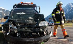 Nußdorf-Debant: Verkehrsunfall