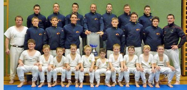 Die Ranggler der Sportunion Matrei gewannen zum dritten Mal infolge den Pokal der Vereinspunktewertung