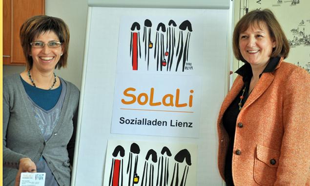 """""""SoLaLi""""-Sozialladen Lienz vor Eröffnung"""