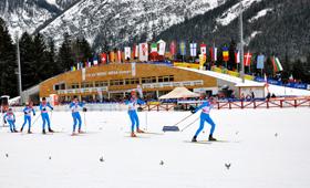 Die Tour de Ski gastiert in Toblach