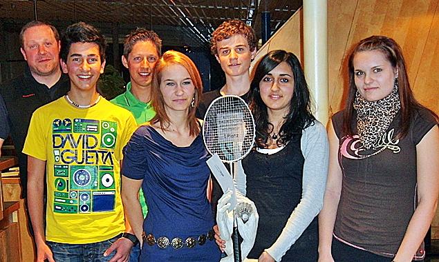 Badminton: Raiffeisen-Mannschaftswintercup