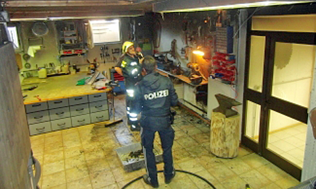 Kellerbrand in Amlach rasch gelöscht