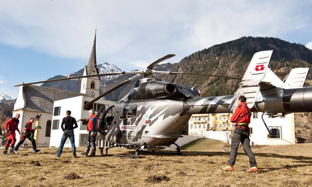 Großglockner: Sturz in Gletscherspalte