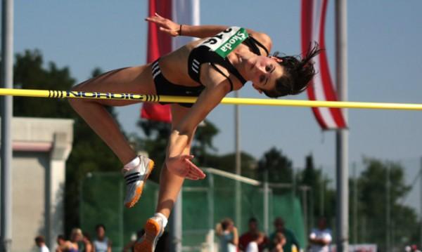 Lisa Egartner verbesserte ihren eigenen Tiroler Rekord um 2 cm.