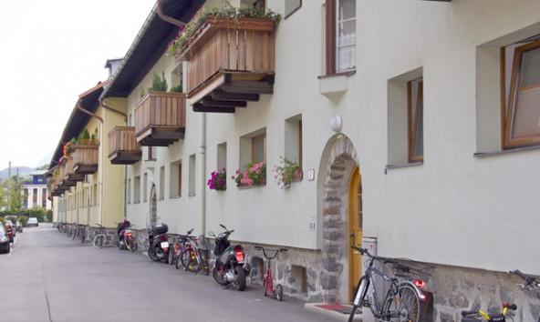 In Lienz gibt es 250 stadteigene Wohnungen: kompakt, leistbar und deshalb heiß begehrt. Im Bild: Einheiten in der Haspingerstraße.