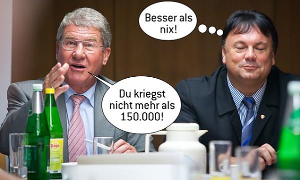 Bruno Wallnöfer TIWAG und Bürgermeister Matrei Köll Andreas