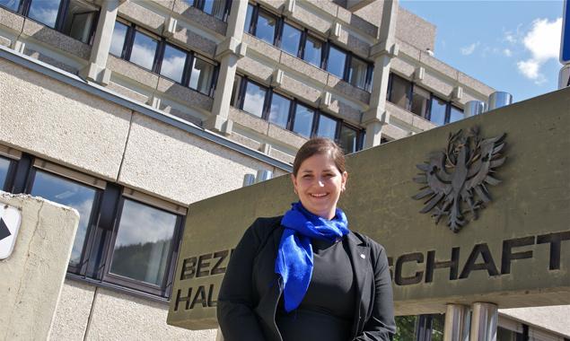 Bezirkshauptfrau Olga Reisner lädt zum Tag der offenen Tür. Foto: BH Lienz