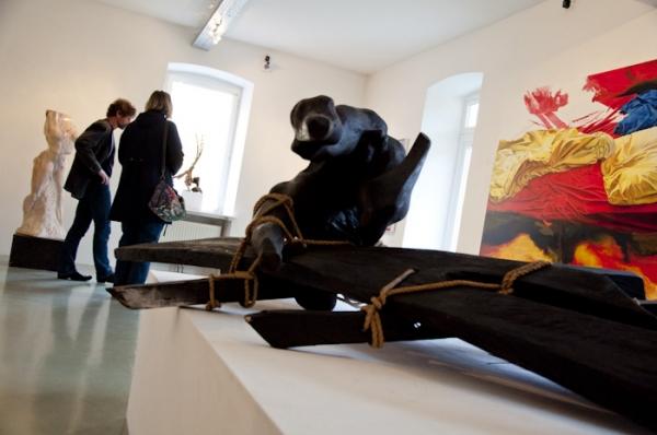 """""""Ikarus"""" von Profunser - zu sehen in der Galerie 9900"""