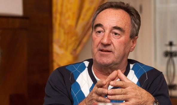 Sigi Vergeiner ist der Mister Weltcup in Lienz und Präsident des Skiclubs. Foto: Brunner Images