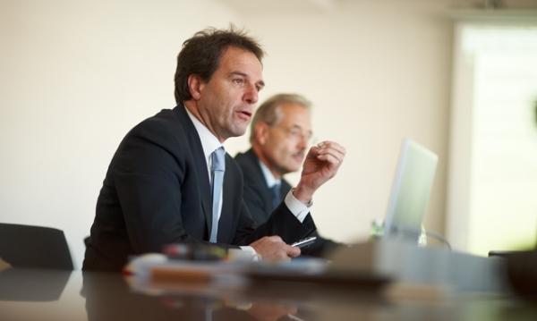 Obmann Franz Theurl und Aufsichtsratsvorsitzender Werner Frömel präsentierten das Sparbudget des TVB