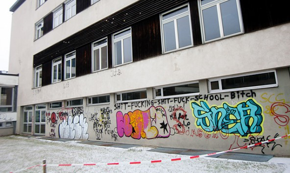 Der Zustand des ehemaligen Bundeskonviktes sieht sowohl von außen wie von innen desolat aus. Foto: Brunner Images