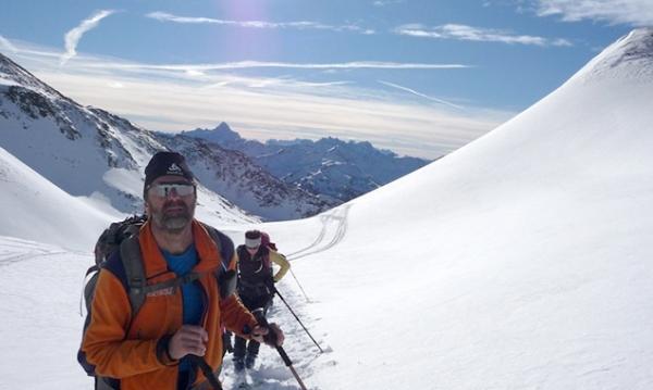 Dolomitenblick beim Aufstieg zum Roten Kinkele. (Foto: BR, Georg Bayerle)