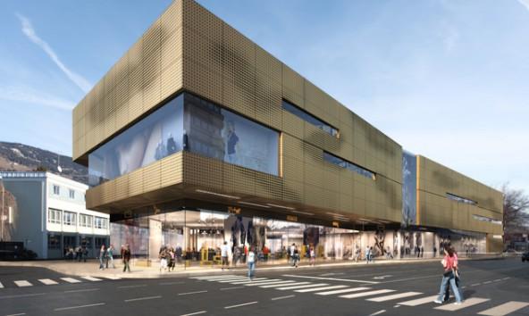 Die Projektanten der Großkaufhauses an der  B100 beteuern, dass die Finanzierung des Projekts durch den Ausgleich der ZH-Gruppe nicht betroffen sei.
