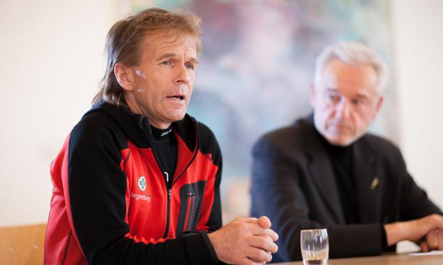 Peter Veider, Geschäftsführer Bergrettung Tirol, sieht die Bergretter am Limit ihrer Ressourcen – personell und finanziell.
