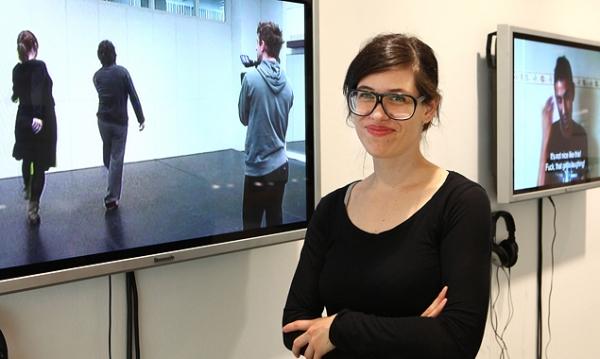 Anja Krautgasser, die Hauptpreisträgerin des vierten RLB Kunstpreises. (Foto: Raiffeisen/Forcher)