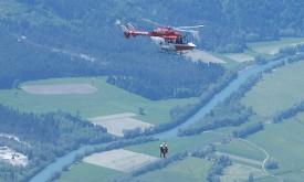 Paragliderunfall im Gebiet der Emberger Alm