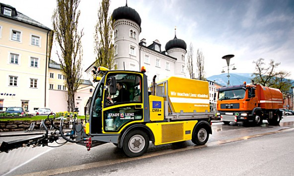 Am Montag, 4. Juni, präsentiert sich der Wirtschaftshof den Bürgern. Foto: Stadt Lienz/ Assmayer