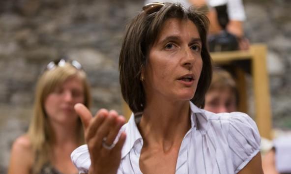 Rita Feldner befürchtet, dass Prägraten zum großen Verlierer der Virgentaler Kraftwerksfrage wird. Foto: Expa/Groder