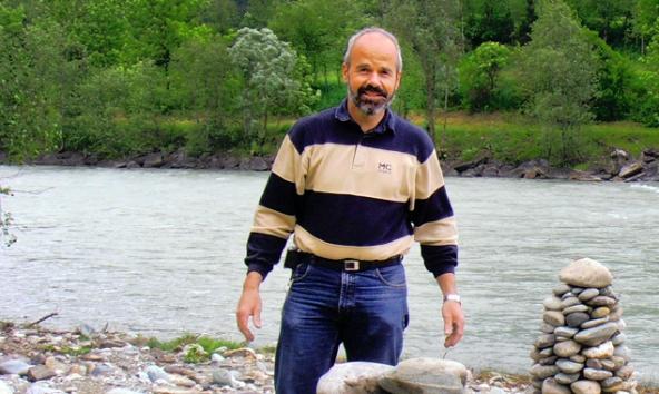 Thomas Haidenberger sieht in der Isel eine Sehenswürdigkeit, die für den Osttiroler Tourismus Chancen birgt.
