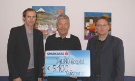 Lienzer Lions unterstützen Jalimo-Hospital