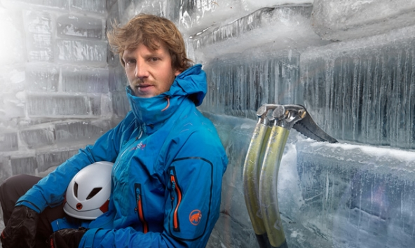 Der alte und neue Staatsmeistster im Eisklettern: Peter Ortner. Foto: Martin Lugger.