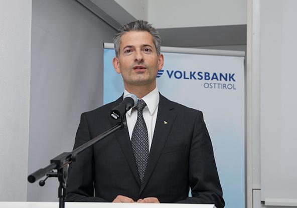 """Volksbank-Direktor Mattersberger auf die AK Tirol """"aktiv zugehen."""