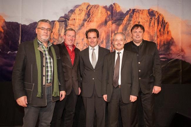 Zwei Landtagsabgeordnete und ein Bundesrat - Politiker im Tousimusverband Osttirol