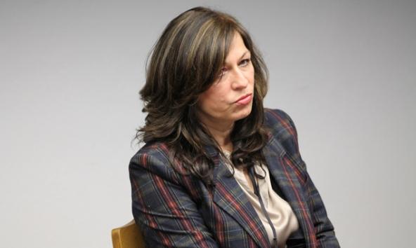 Die Matreier Vizebürgermeisterin Elisabeth Mattersberger