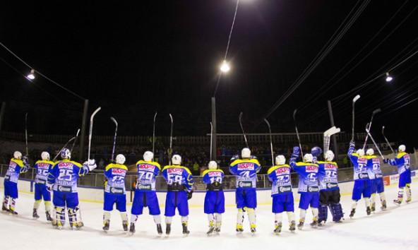 Nach einer überragenden Saison können sich die Spieler und Fans des UECR Huben über den Meistertitel freuen. Fotos: Expa/Groder