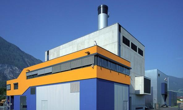 Das Biomasse-Fernheizwerk der Stadtwärme Lienz in der Peggetz. Foto: Wolfgang C. Retter