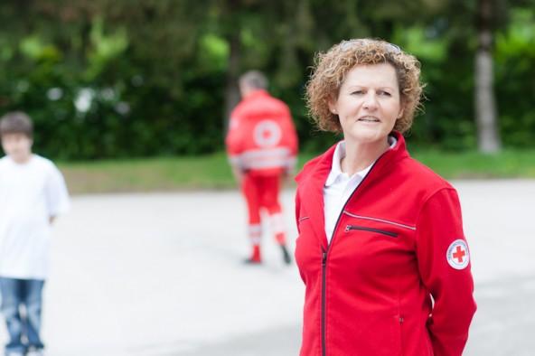 Christa Erlacher leitet die Sozialbegleitung des Roten Kreuzes in Lienz.