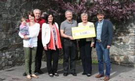 Virgens Mütter spenden 3.000 Euro für Jalimo