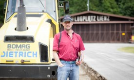 Arbeiten am Flugplatz Nikolsdorf starteten planmäßig