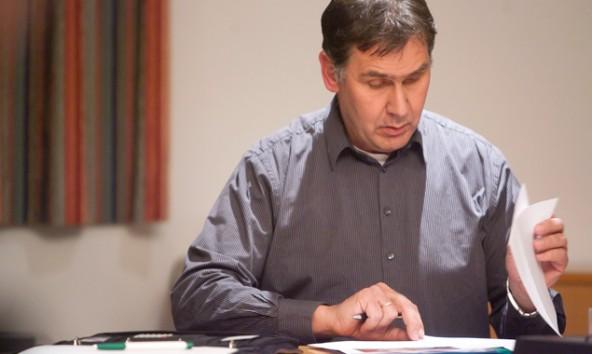 Anton Steiner möchte seine Gemeinde gut vorbereitet wissen. Foto: Brunner Images