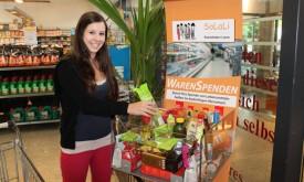 """Lienzer M-Preis sammelt Waren für """"Solali"""""""