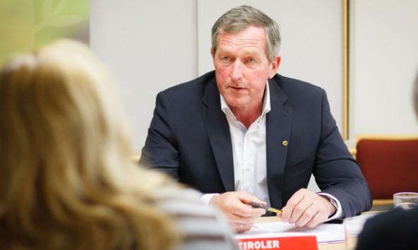 Hermann Kuenz (ÖVP) hält den Sonderlandtag für Wahlkampfgetöse der Opposition. Foto: Tschurtschenthaler