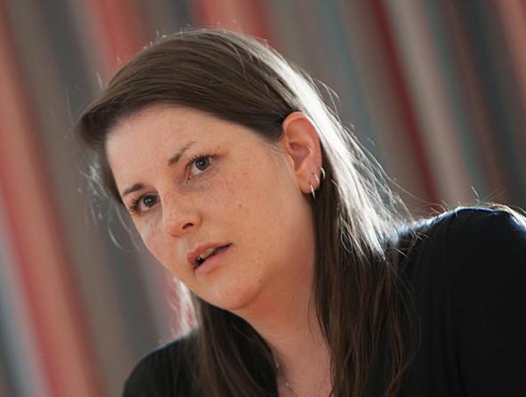 Bezirkshauptfrau Olga Reisner freut sich über den direkten Kontakt mit der Bevölkerung. Foto: EXPA/Groder