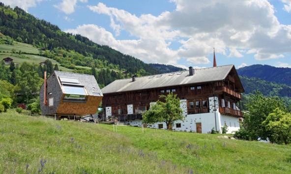 """Das etwas andere Privatquartier: """"Ufogel"""" als Ferienwohnung neben dem Anwesen der Familie Pitterl in Nussdorf-Debant."""