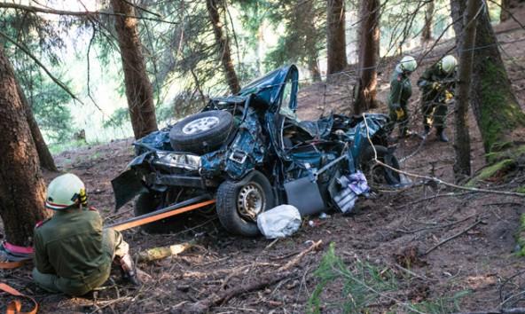 Unfall-Praegraten-Totalschaden