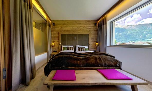 """Geschmackvoller Luxus am oberen Ende der Privatzimmer-Qualitätsscala: """"Freiraum""""-Appartmentwohnung in Matrei."""