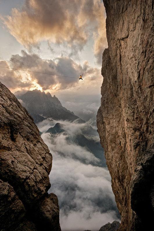 Martins Wettbewergsbeitrag, aufgenommen in den Lienzer Dolomiten. Bild anklicken, um es zu vergrößern.