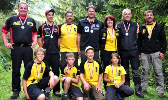 Elf Medaillen holten die Osttiroler Bogenschützen bei den Tiroler Meisterschaften im Wipptal.