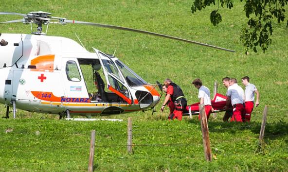 Hubschrauber-Gaimberg