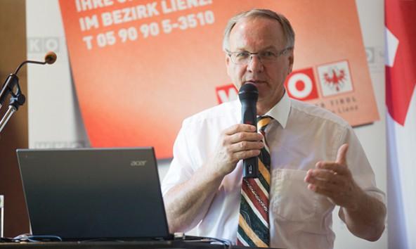 Der steirische VP-Abgeordnete Josef Ober erklärt, was eine Region wertvoll macht. Foto: Brunner Images