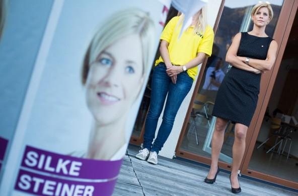 Möchte nicht nur Staub aufwirbeln und auch nicht spurlos verschwinden: Silke Steiner.