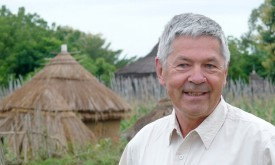 Fundament für Krösslhubers Spital in Afrika gelegt