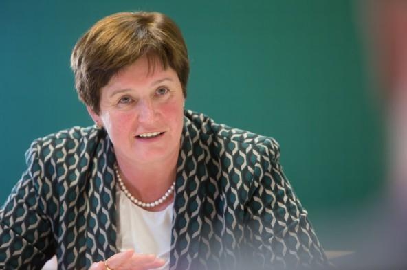 Landesbäuerin Resi Schiffmann erläuterte, was die Tiroler Bäuerinnen zum Welternährungstag planen.