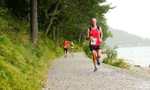 Michael Rogl nahm heuer erstmals am Wolfgangseelauf teil. Mit Erfolg.