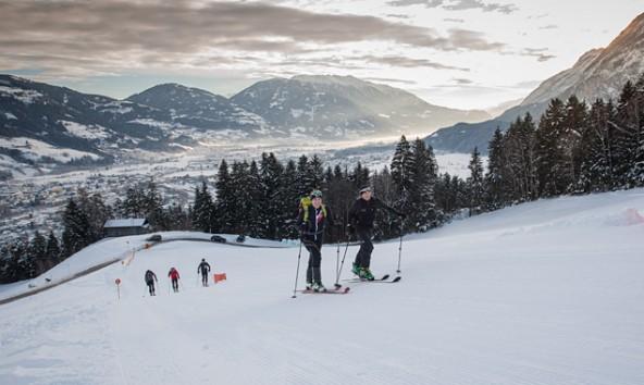 Beliebter Workout am Lienzer Hausberg: die Skitour auf den Hochstein. Foto: Tobias Tschurtschenthaler