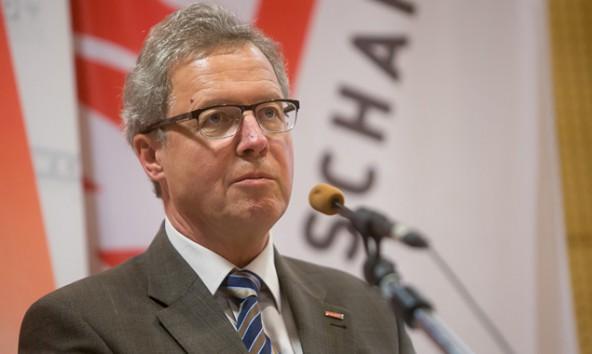WK-Bezirksstellenobmann Michael Aichner erwähnte, wie wichtig die Schupper-Workshops für Lehrlinge sind.